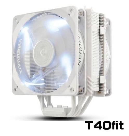 新竹【超人3C】 保銳 T40-Fit CPU風扇 白蝠版 散熱器 ETS-T40F-W