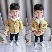 秋裝寶寶牛仔外套韓版夾克