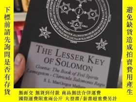 二手書博民逛書店the罕見lesser key of solomonY26073