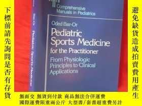 二手書博民逛書店Pediatric罕見Sports Medicine for t