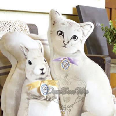 日本KISHIMA午睡枕抱枕玩偶松鼠609970貓咪609987通販屋