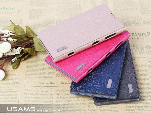 【現貨】U-Clothes Nokia Lumia 1020(EOS) 專用 左翻皮套 - 花漾系列 保護套 手機殼