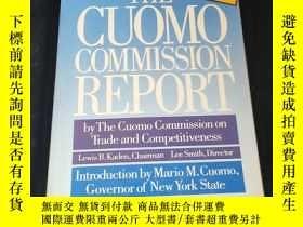 二手書博民逛書店The罕見Cuomo Commission ReportY21619