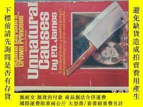二手書博民逛書店UNNATURAL罕見CAUSES-1967年Y6830