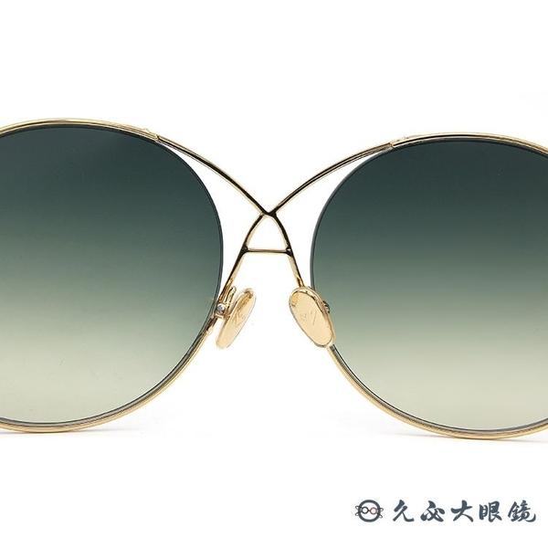 SPEKTRE 太陽眼鏡 INFINITY (金) 圓框 漸層綠 墨鏡 久必大眼鏡