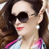 新款時尚偏光太陽鏡圓臉墨鏡女潮近視眼鏡長臉眼睛【無趣工社】