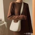 2021夏斜背包小眾設計感小包2021新款春腋下女單肩餃子包高級洋氣 一米陽光