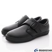 日本Moonstar月星機能童鞋黑皮鞋系列22246黑(中大童段)