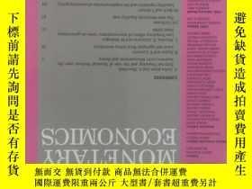 二手書博民逛書店Journal罕見of Monetary Economics (JME) 12 2017 貨幣經濟學學術期刊Y