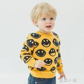 男童套頭針織衫毛衣2018新款秋冬裝春秋季童裝寶寶小童兒童U9946 藍嵐