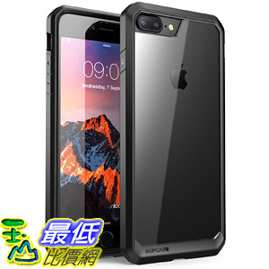 [106美國直購] 手機保護殼 iPhone 8 Plus Case, SUPCASE Unicorn Beetle Series Premium Hybrid Protective Clear Case