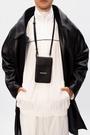 ■專櫃88折■全新真品■Balenciaga 640536 黑色小牛皮證件及手機掛包-C15