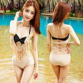 泳衣(兩件式)-比基尼-時尚流蘇優雅性感女泳裝-2色73mb8[時尚巴黎]