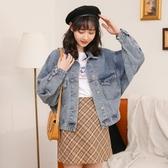 牛仔外套 牛仔外套女寬松流行韓版2020春秋新款網紅夾克學生bf復古女裝上衣