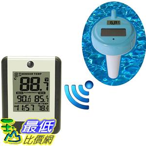 [美國代購] Ambient Weather WS-14 無線水溫感測 溫度計 8-Channel Floating Pool and Spa Thermometer