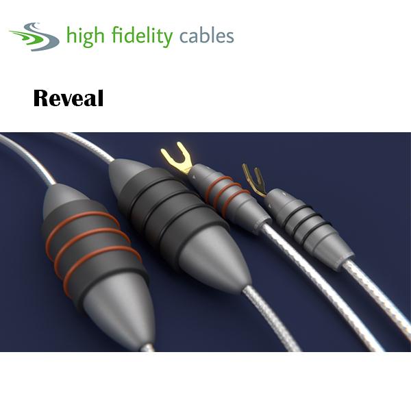 【勝豐群音響竹北】High Fidelity Cables Reveal  喇叭線 3m