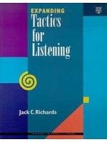 二手書博民逛書店 《Expanding tactics for listening》 R2Y ISBN:0194346609│JackC.Richards
