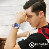 手錶 2018新款手錶男士非機械運動石英學生防水時尚潮流夜光鋼帶男錶腕