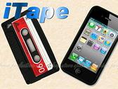 【DZ262】韓日暢銷版 iTape錄音帶復古造型iPhone 專用 矽膠套 保護套 果凍套 EZGO商城