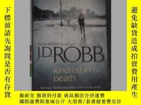 二手書博民逛書店Kindred罕見In Death by J.D. Robb 原