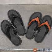夾腳拖鞋男戶外拖鞋潮外穿防滑室外涼拖個性沙灘鞋【淘夢屋】