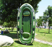 橡皮艇 加厚雙人充氣船 兩人皮劃艇三人橡皮艇釣魚船特厚漂流 igo  非凡小鋪