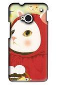 [M7 軟殼] HTC new One M7 801e 801s 手機殼 保護套 外殼 紅帽貓