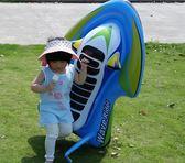 兒童游泳圈成人加厚大號動物浮排鯊魚水上充氣床男女寶寶玩具坐騎 小巨蛋之家