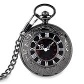 懷錶復古配飾白領學生錶潮流男女項鍊石英錶照片手錶(快出)