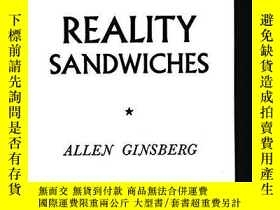二手書博民逛書店Reality罕見SandwichesY256260 Ginsberg, Allen Consortium B