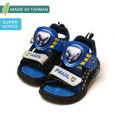 【錢豪童裝童鞋】Super Wings 超級飛俠電燈涼鞋(15~20號)