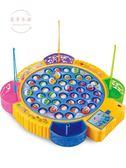 益智玩具兒童磁性電動釣魚機寶寶小貓釣魚套裝小孩玩具1-3-6周歲益智男孩jy【下殺85折起】