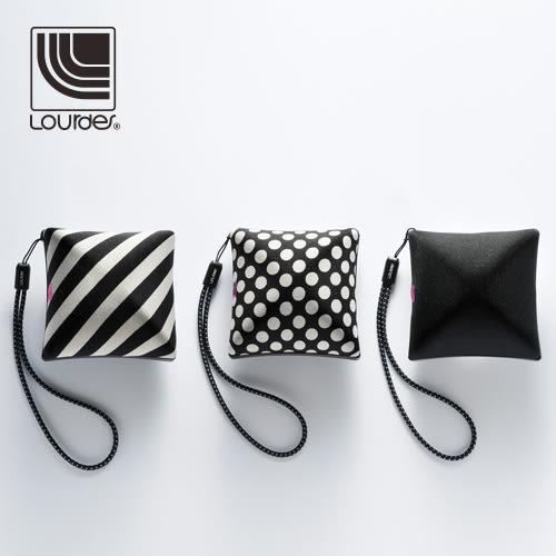 Lourdes日式抱枕造型攜帶式小亮點震動按摩器(三色可選)HL18