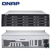 QNAP 威聯通 TS-EC1680U-E3-4GE-R2 16Bay NAS 網路儲存伺服器