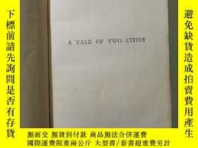 二手書博民逛書店A罕見Tale of Two Cities 雙城記英文原版Y2341 Charles Dickens Coll