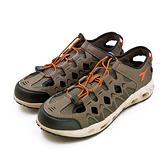 LIKA夢 DIADORA 迪亞多那 多功能排水戶外水陸運動涉水涼鞋 野趣探險系列 咖黑棕 7353 男