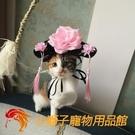 寵物格格頭飾帽子搞笑貓咪頭飾飾品小狗貓貓寵物發飾頭飾【小獅子】
