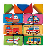 《K's Kids奇智奇思》寶寶配對學習積木組Learning Blocks
