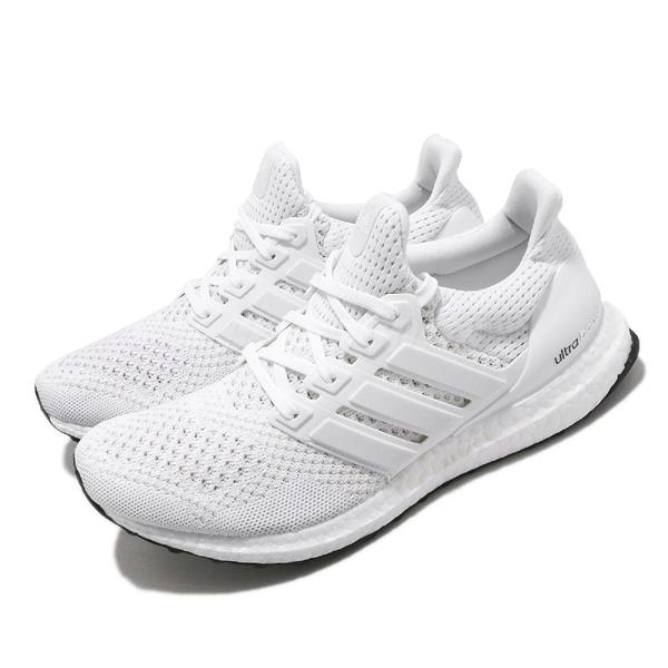 adidas 慢跑鞋 UltraBOOST M 1.0 白 全白 男鞋 女鞋 襪套式 經典復刻 運動鞋 【ACS】 S77416