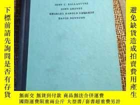 二手書博民逛書店A罕見synopsis of otolaryngology(耳喉科綱要 第三版 )英文原版Y274467 Jo