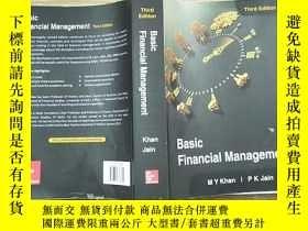 二手書博民逛書店Basin罕見Financial Management(基本財務