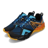 Merrell 戶外鞋 MQM Flex GTX 藍 橘 男鞋 運動鞋 越野 防水 【ACS】 ML99809