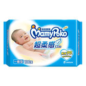MamyPoko 滿意寶寶純水濕巾補充包100抽(12包/箱)