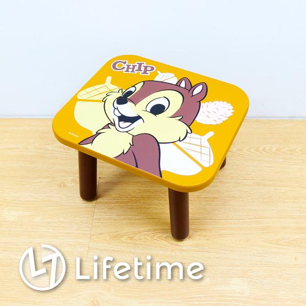 ﹝迪士尼方型木矮凳椅﹞正版 凳椅 換鞋凳 矮凳 椅子 小凳椅 迪士尼 奇奇〖LifeTime一生流行館〗