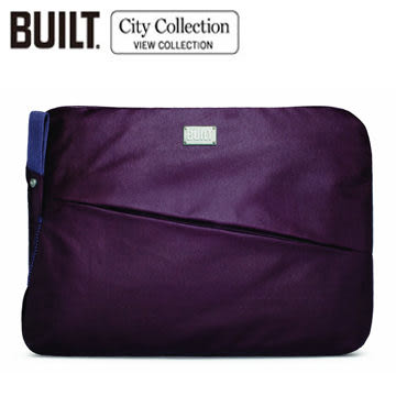 BUILT NY LAPTOP SLEEVE City 電腦包 保護套for macbook pro 13/ Retina New Air 13-深紫色(CE-LS13-ABG)