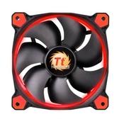 Thermaltake曜越  Riing 12公分LED高風壓水冷排風扇(紅)