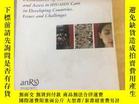 二手書博民逛書店ECONOMICS罕見OF AIDS AND ACCESS TO