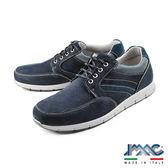 【IMAC】拼接設計運動休閒鞋 藍色(50590-BU)