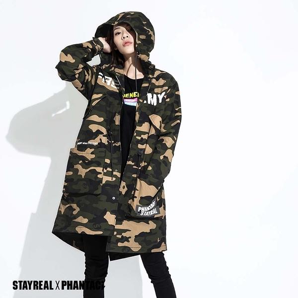 STAYREAL x PHANTACi 連帽長版外套
