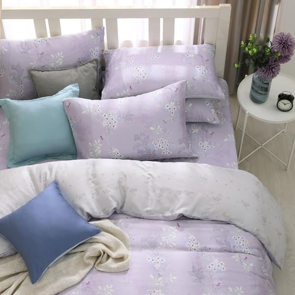 鴻宇 雙人特大床包組 天絲 萊賽爾 紫韻 台灣製T20101